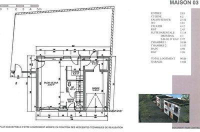 maison a vendre 57140 metz 5 pi ces 91 m agence amphith tre. Black Bedroom Furniture Sets. Home Design Ideas